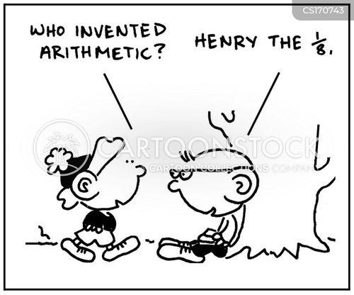 math lesson cartoon