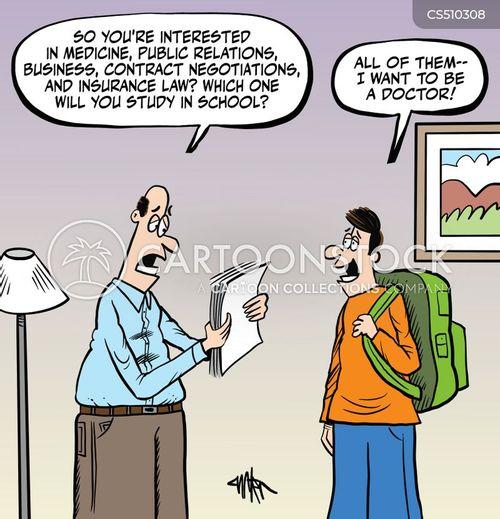 med students cartoon