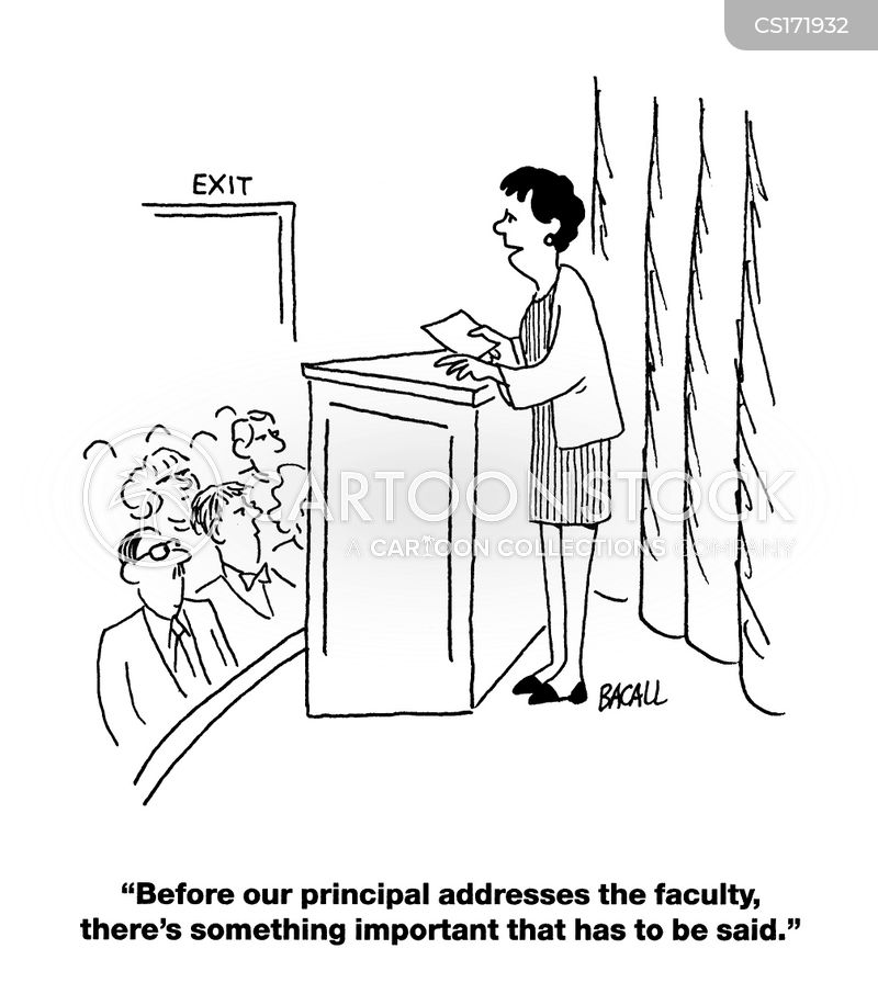 faculty cartoon