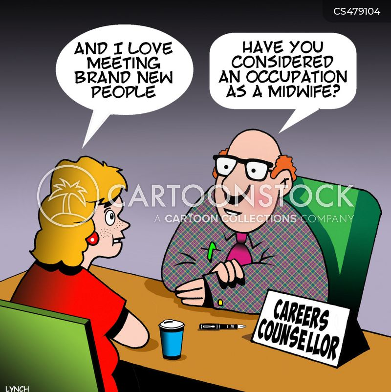 career counsellors cartoon