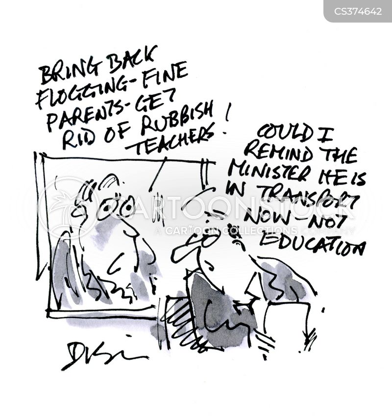 minister for education cartoon