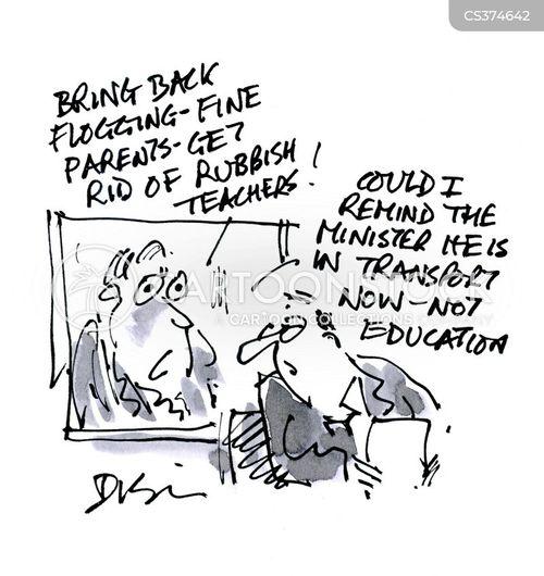 minister for transport cartoon