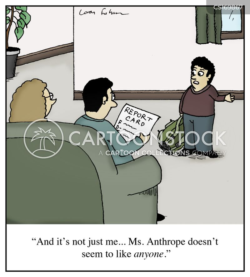 bad grade cartoon