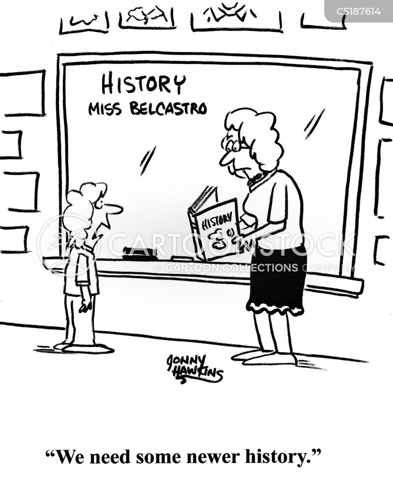 history class cartoon
