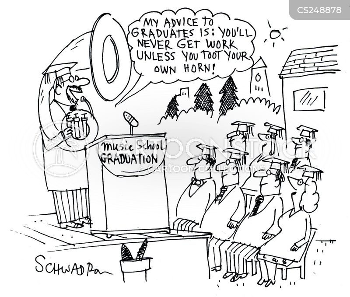music students cartoon
