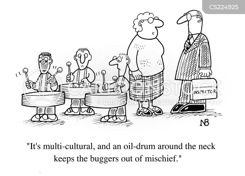 music teaching cartoon