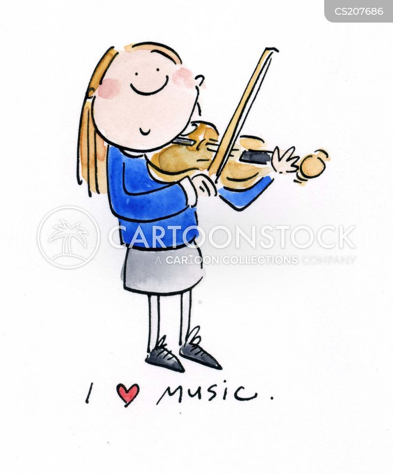 music lessons cartoon