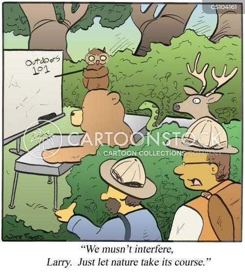 ecosystems cartoon