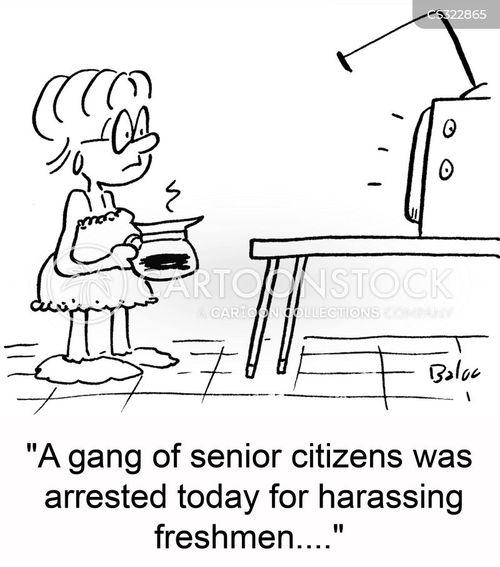 freshmen cartoon