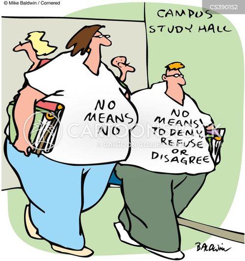 refuals cartoon
