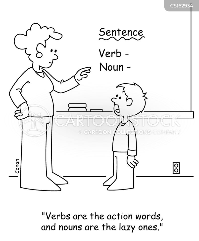 grammar classes cartoon