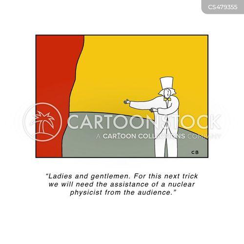nuclear physicist cartoon
