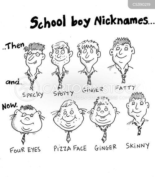 Funny fat nicknames