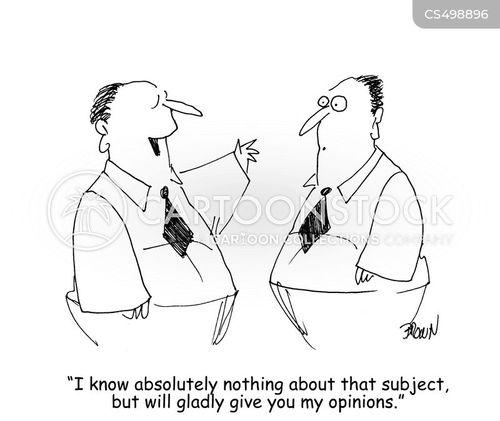 debator cartoon