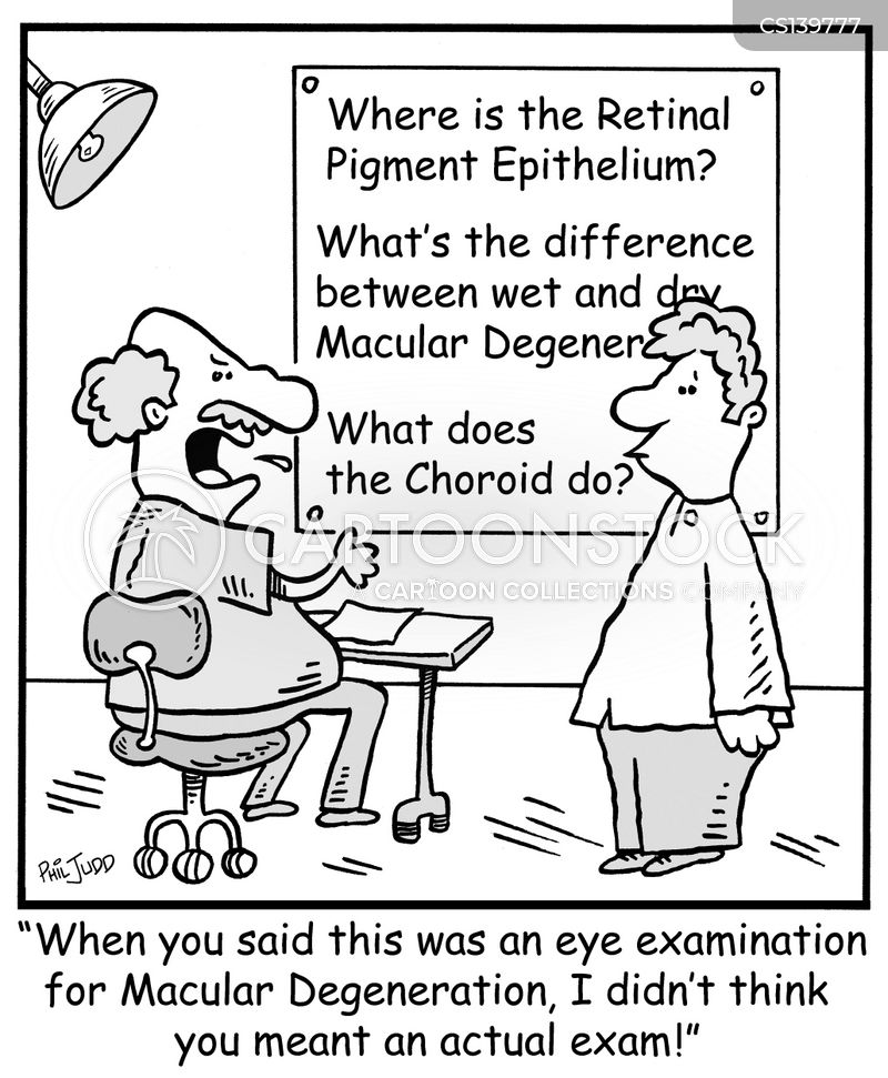 cataract cartoon