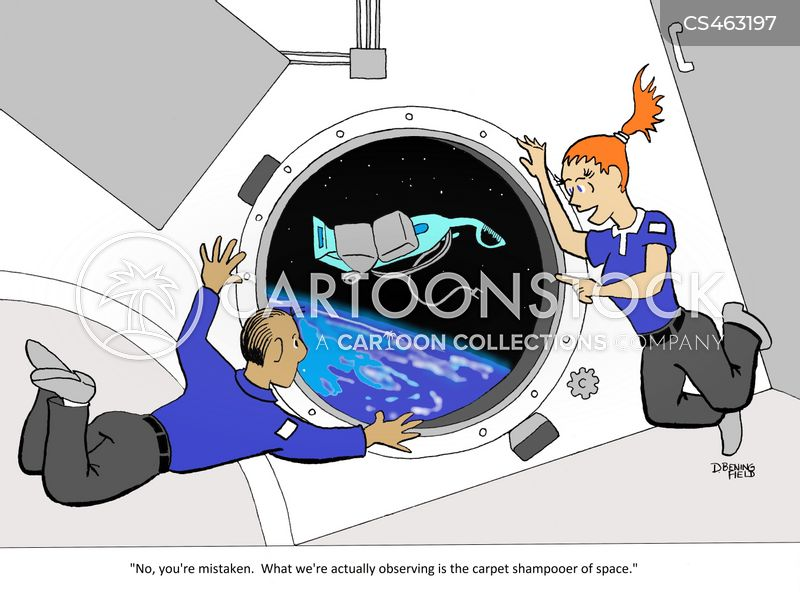 vacuum of space cartoon