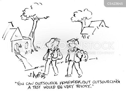 plagiarising cartoon