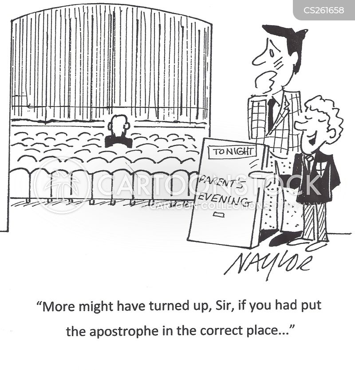 apostrophe cartoon
