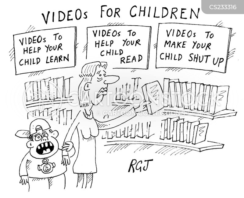 educational viewing cartoon