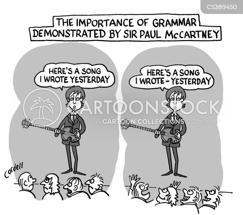 Grammatical Errors Cartoons and Comics - funny pictures from ...