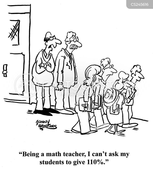 numerology cartoon