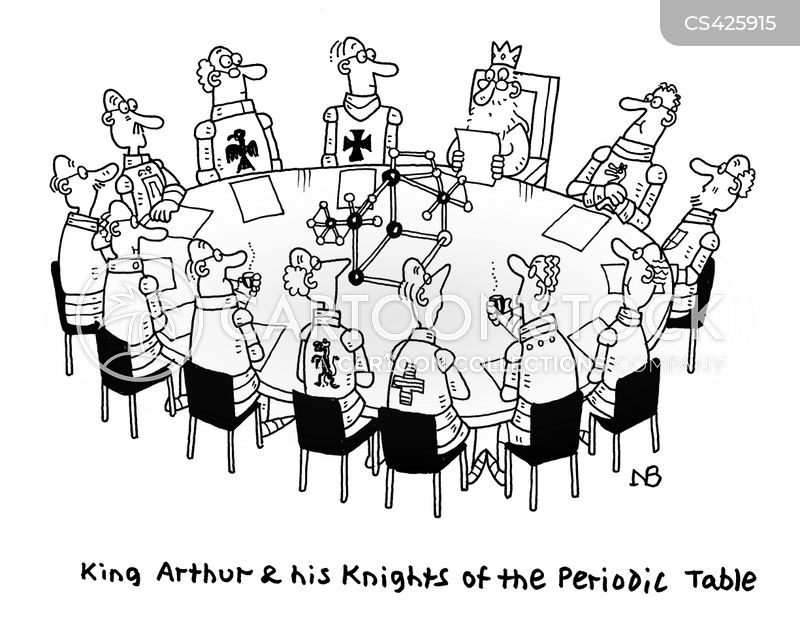arthurian legend cartoon