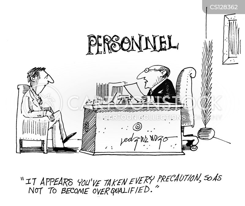 Work Resume Cartoon 1 Of 1