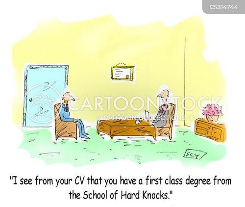 School Of Hard Knocks On Resume