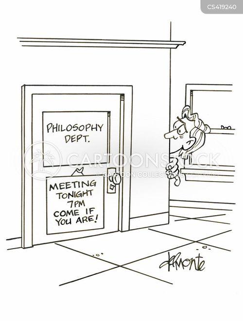 philosophy departments cartoon