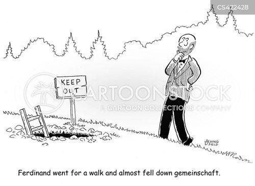political theory cartoon
