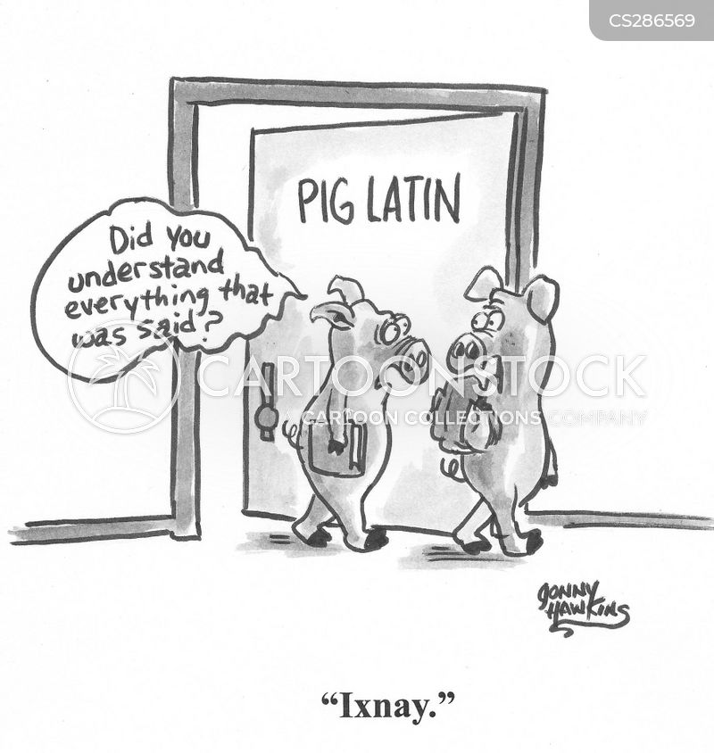 learn how to speak pig latin