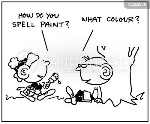 pigments cartoon