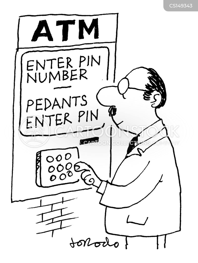 pedantry cartoon