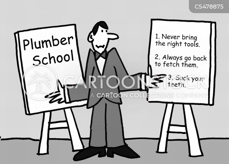 Plumbing School Cartoons and Comics - funny pictures from