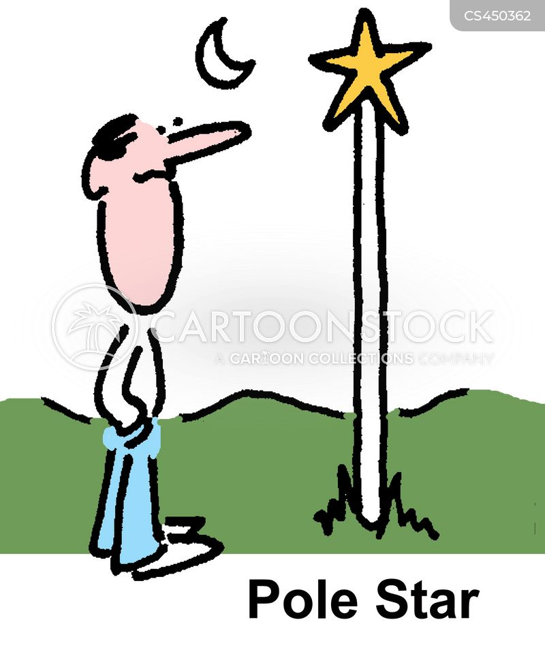 poles cartoon