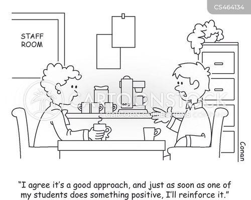 positive reinforcement cartoon