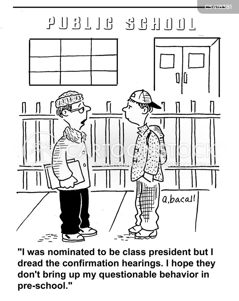 class presidents cartoon