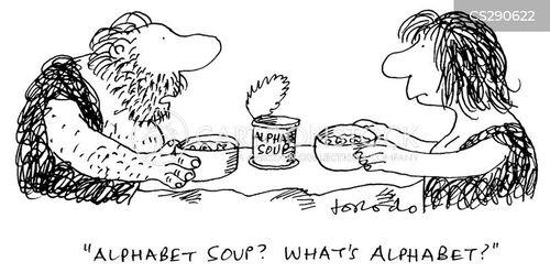 greek alphabet cartoon