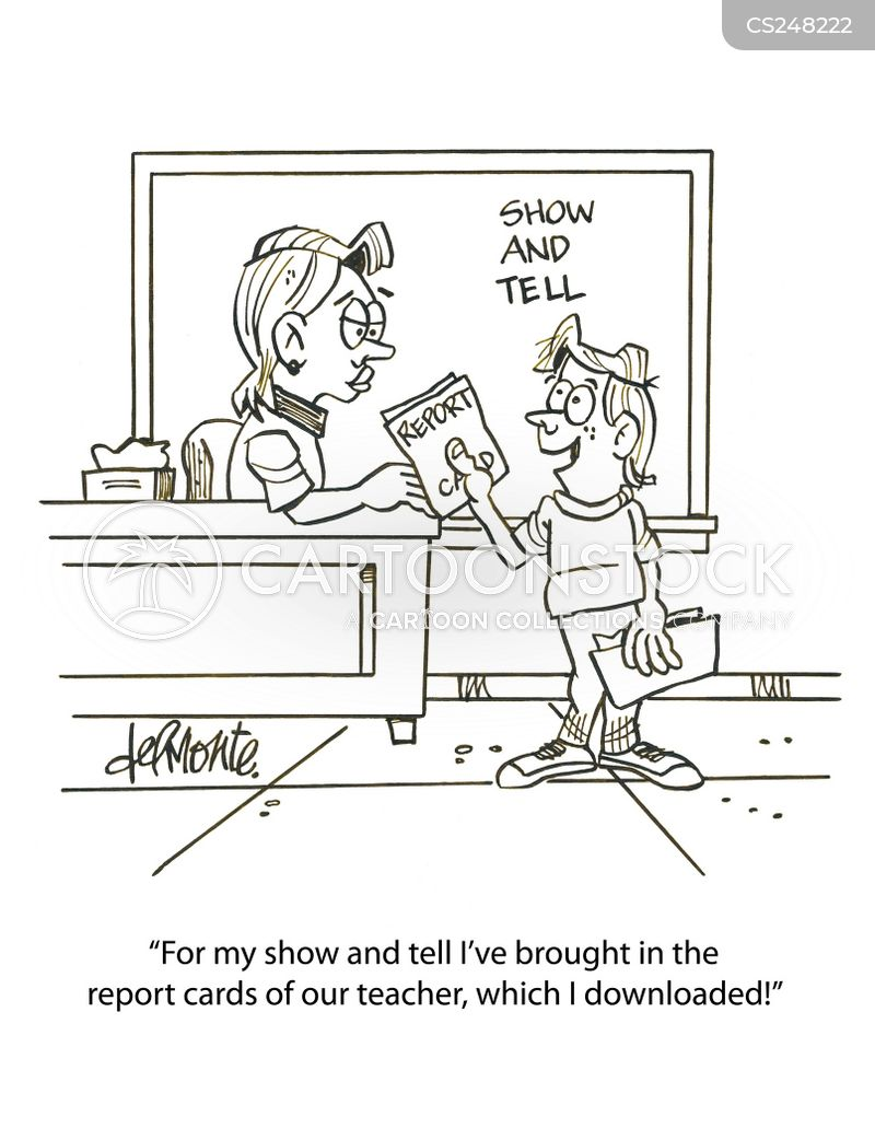 Teaching Report Cartoons And Comics  Funny Pictures From Cartoonstock