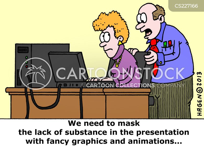 lack of substance cartoon