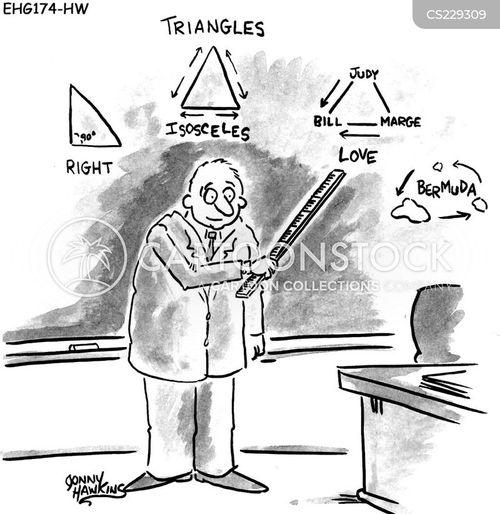 university courses cartoon