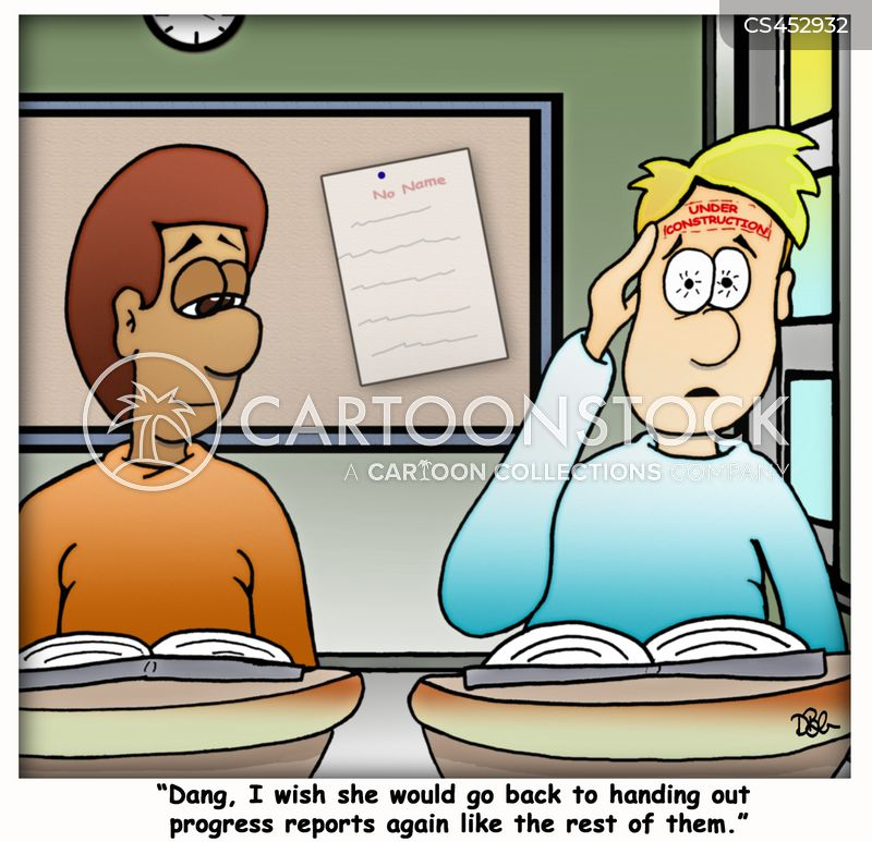 difficult student cartoon