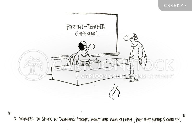 parents night cartoon
