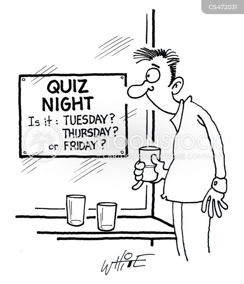 quiz teams cartoon