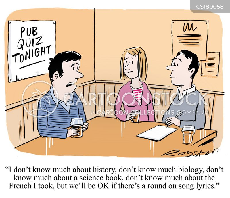 quizzes cartoon