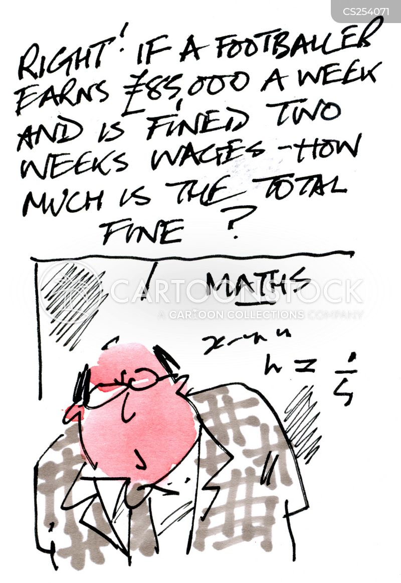 Maths Equations Cartoons and Comics - funny pictures from CartoonStock