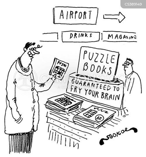 brain teaser cartoon