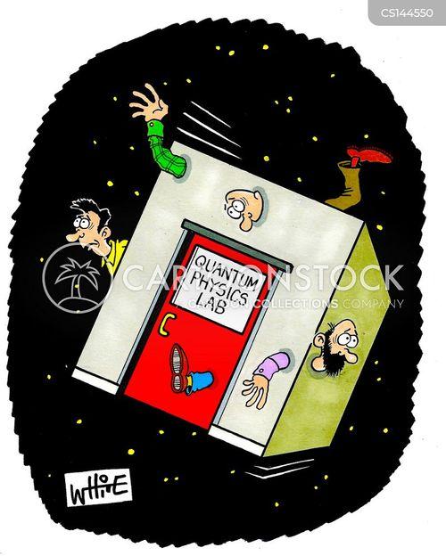 atomic nuclei cartoon
