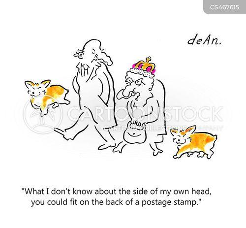 postage stamp cartoon