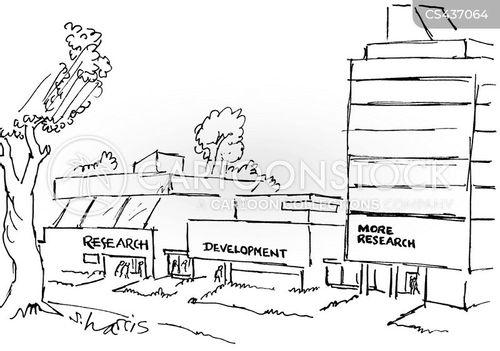 research centre cartoon